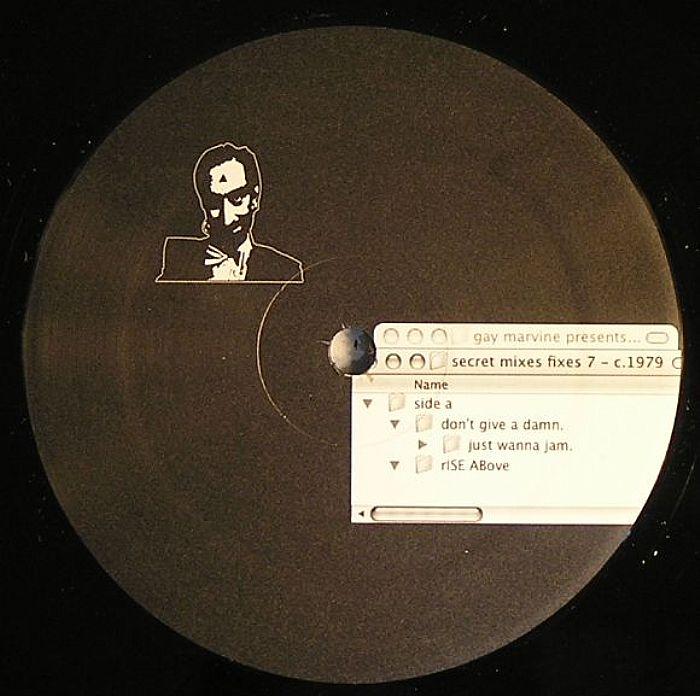Gay Marvine - Secret Mixes Fixes Vol. 8 - The Bathhouse Etiquette EP