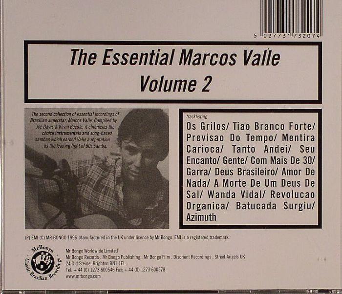VALLE, Marcus - The Essential Marcos Valle Volume 2