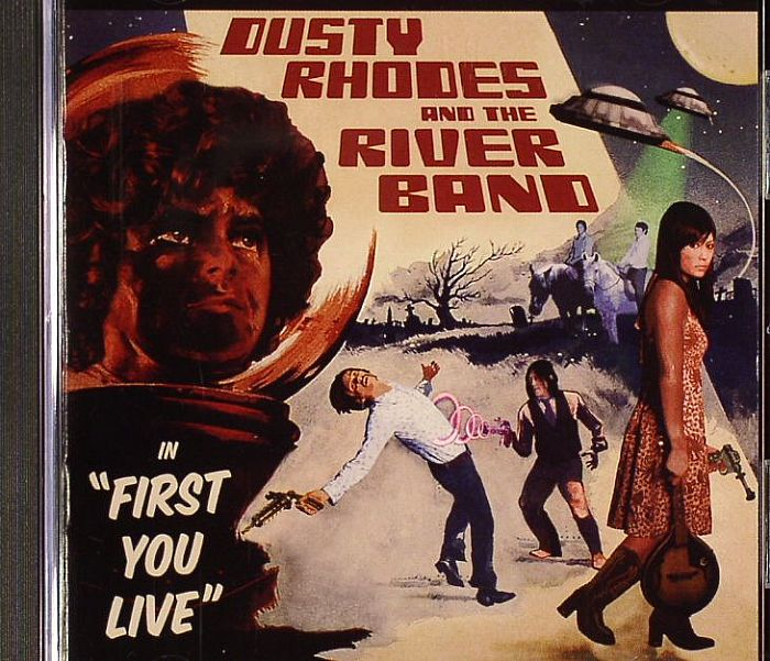 RHODES, Dusty & THE RIVER BAND - First You Live