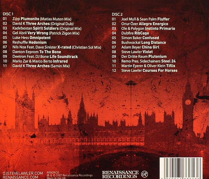 LAWLER, Steve/VARIOUS - Viva London