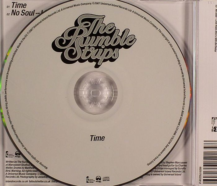 RUMBLE STRIPS, The - Time
