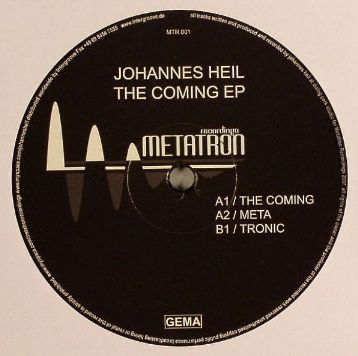 HEIL, Johannes - The Coming EP