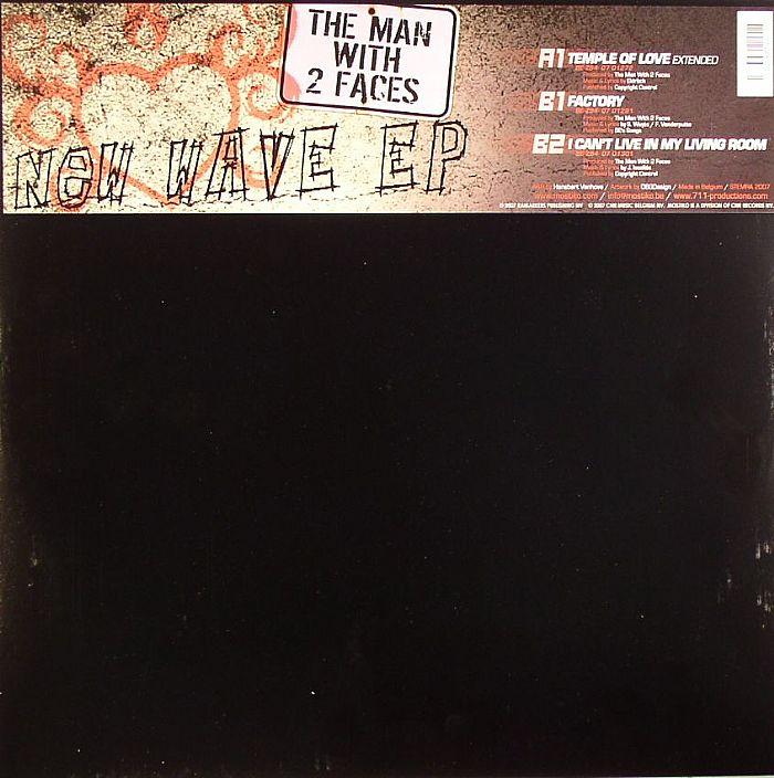MAN WITH 2 FACES, The - New Wave EP