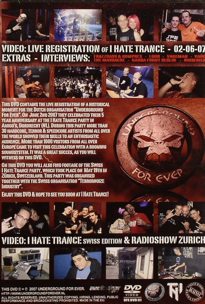 Various - I Hate Trance Volume 4: Demons Of The Underground