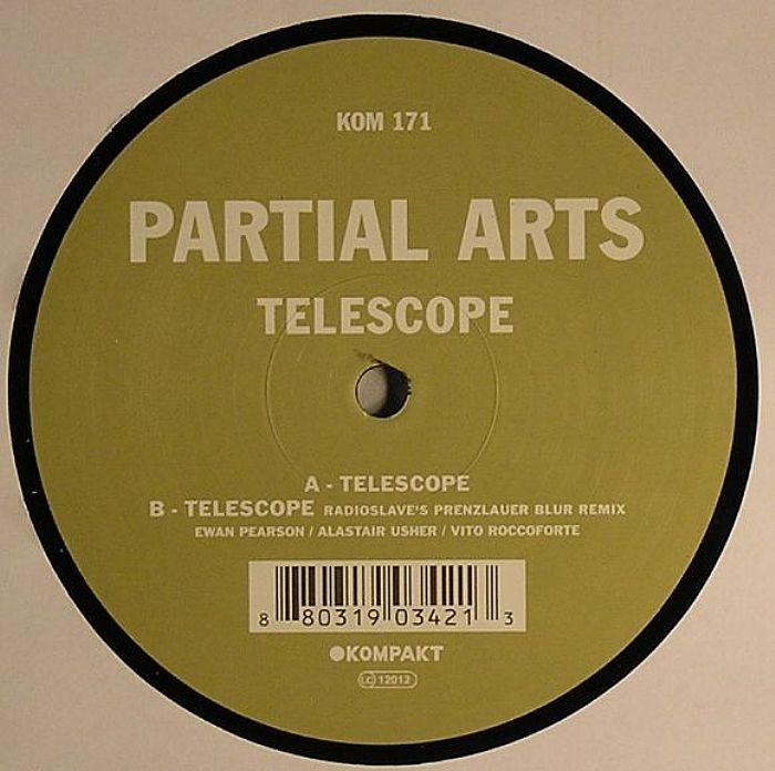PARTIAL ARTS aka EWAN PEARSON/ALASTAIR USHER - Telescope