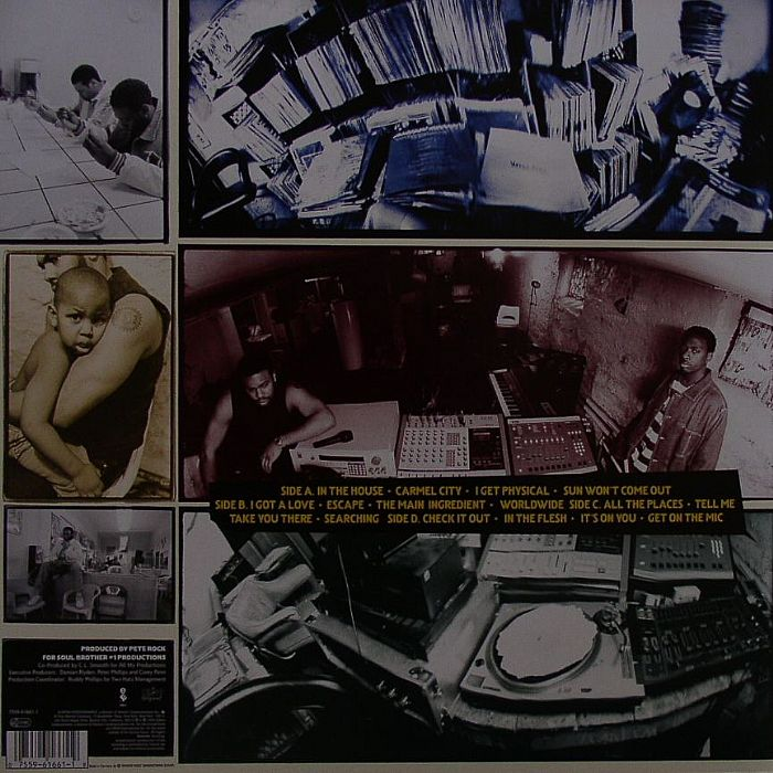 ROCK, Pete & CL SMOOTH - The Main Ingredient