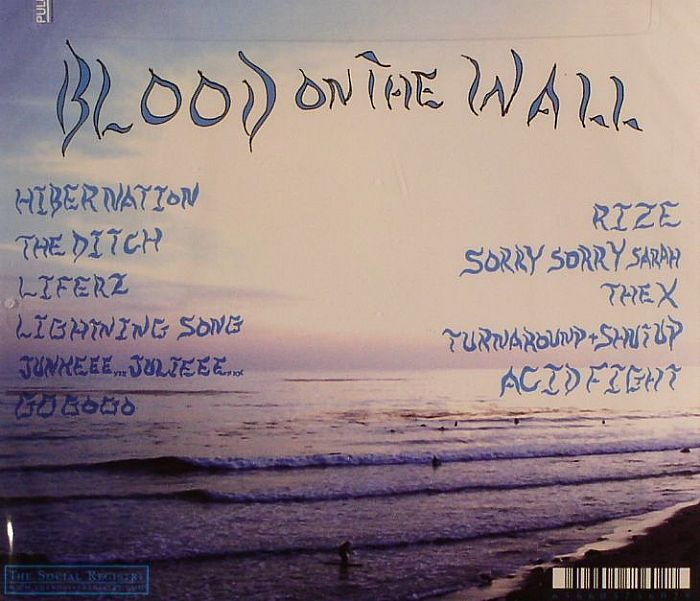 BLOOD ON THE WALL - Liferz