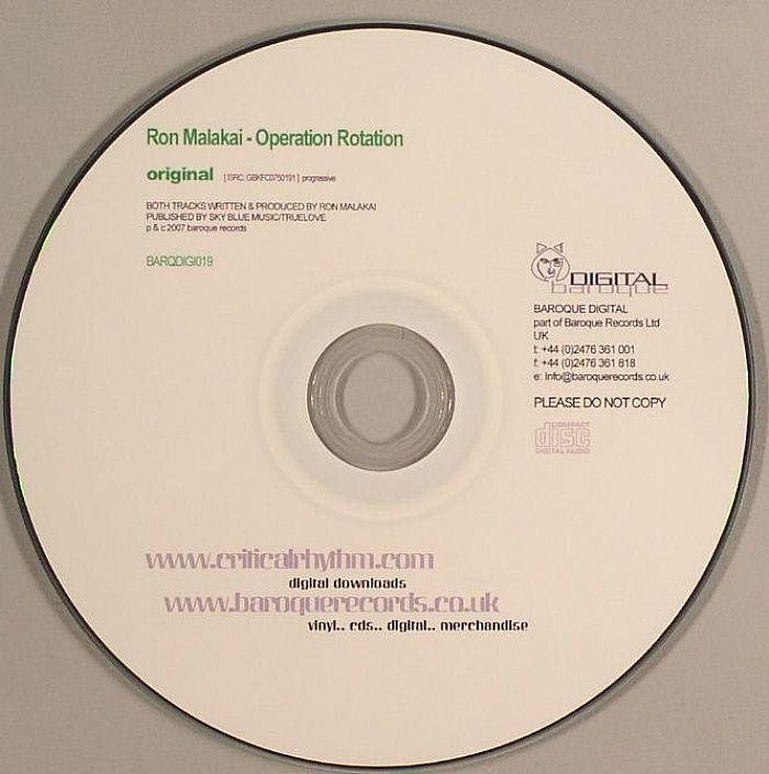 Ron Malakai - Operation Rotation