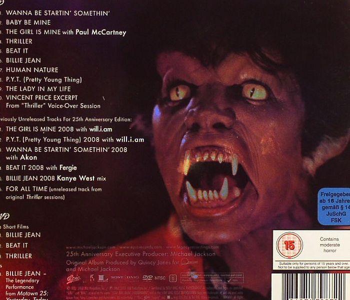 michael jackson thriller 25th anniversary edition vinyl