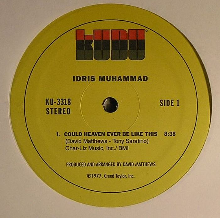 Idris Muhammad Grover Washington Jr Could Heaven Ever Be Like This Vinyl At Juno Records
