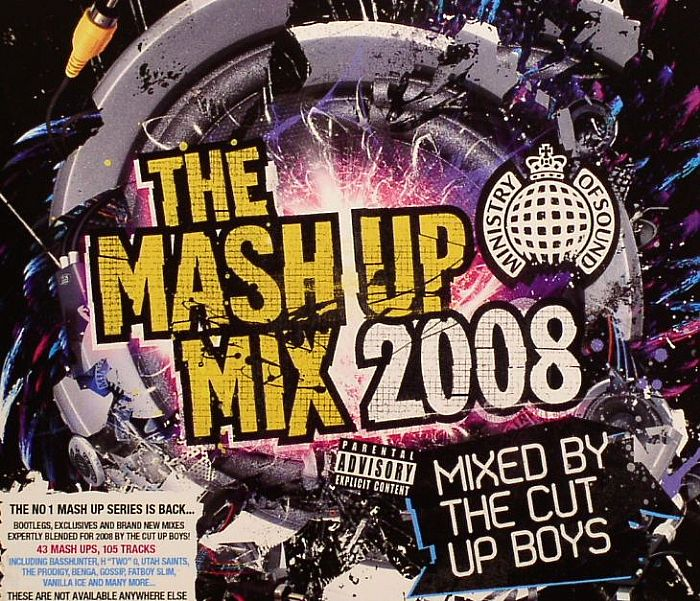 Various - The Mash Up Mix 2006 - Mixed By The Cut Up Boys