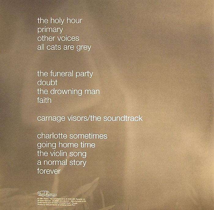 CURE, The - Faith (reissue with 6 bonus tracks)