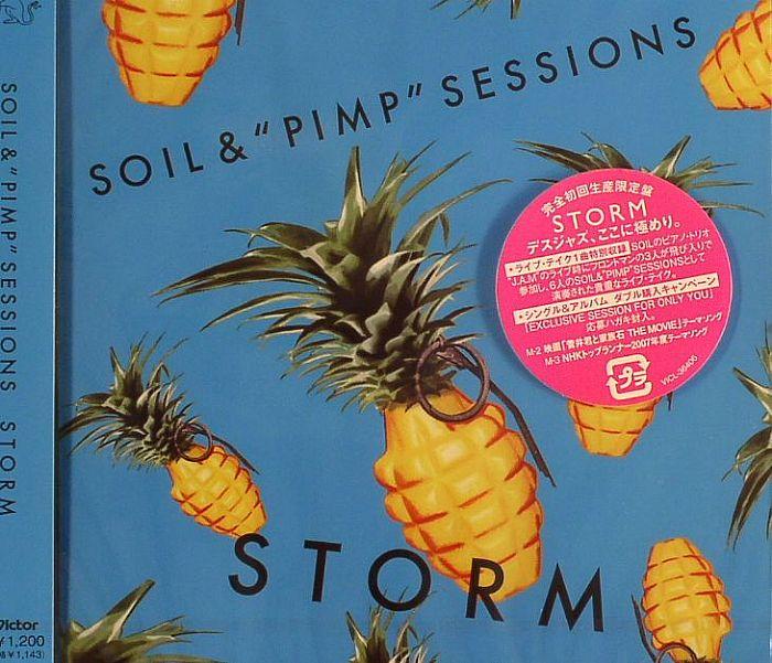 Soil pimp sessions storm vinyl at juno records for Soil and pimp sessions