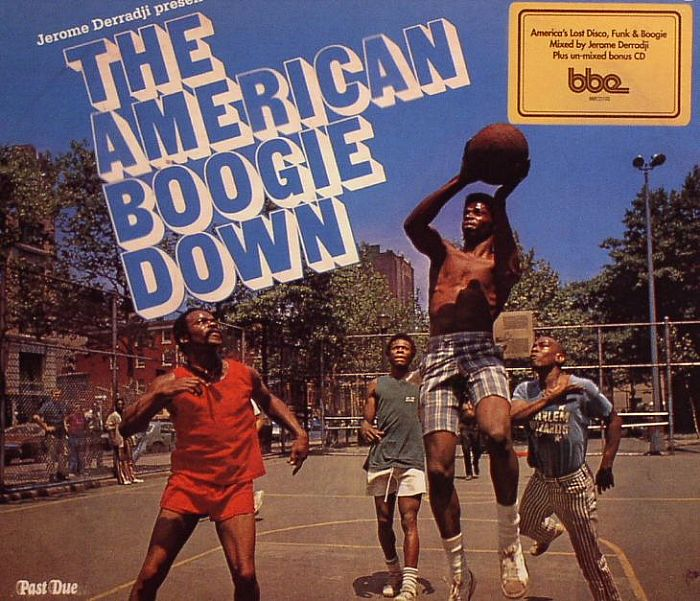DERRADJI, Jerome/VARIOUS - The American Boogie Down: America's Lost Disco Funk & Boogie