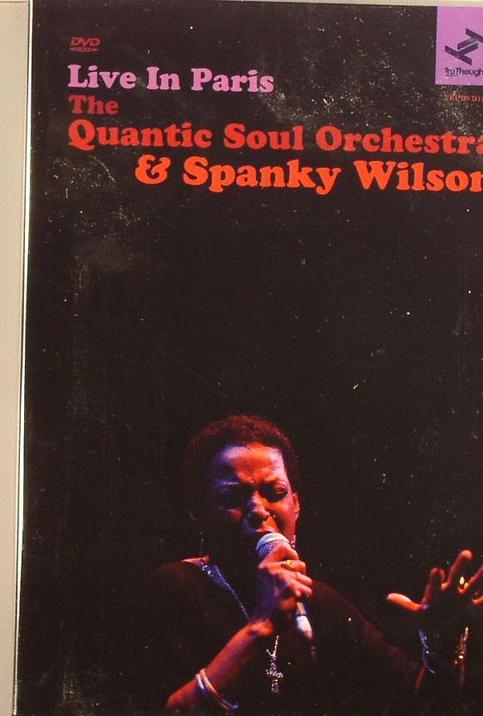QUANTIC SOUL ORCHESTRA, The/SPANKY WILSON - Live In Paris