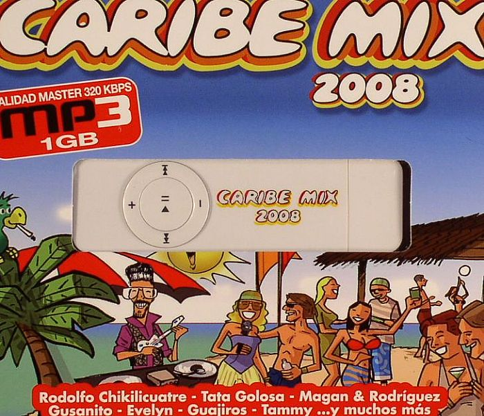 VARIOUS - Caribe Mix 2008: MP3 Edition
