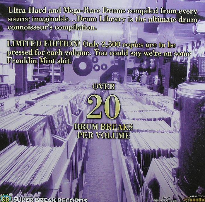 DJ PAUL NICE - Drum Library Vol 4