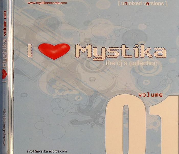 VARIOUS - I Love Mystika Vol 1: The DJ's Collection