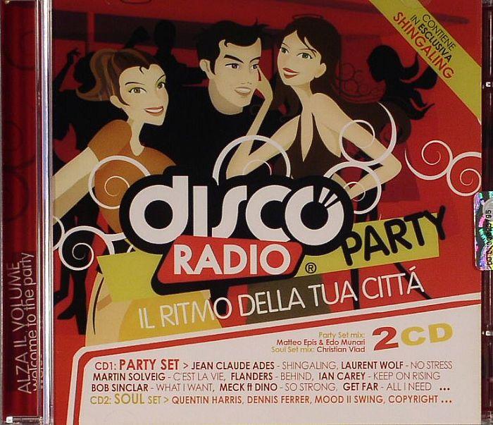 VARIOUS - Discoradio Party (Il Ritmo Della Tua Citta)