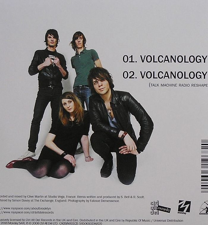BROOKLYN - Volcanology