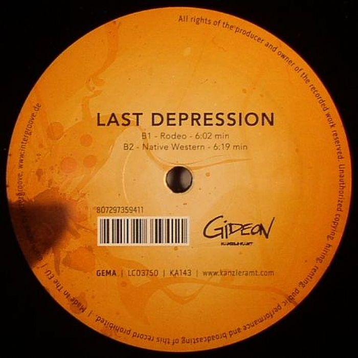 GIDEON - Last Depression