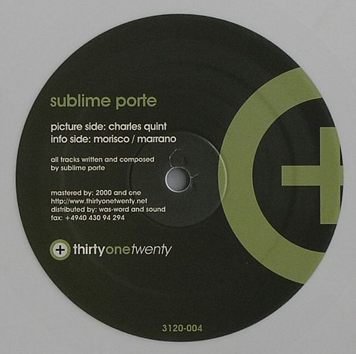 Sublime porte charles quint vinyl at juno records for Sublime porte