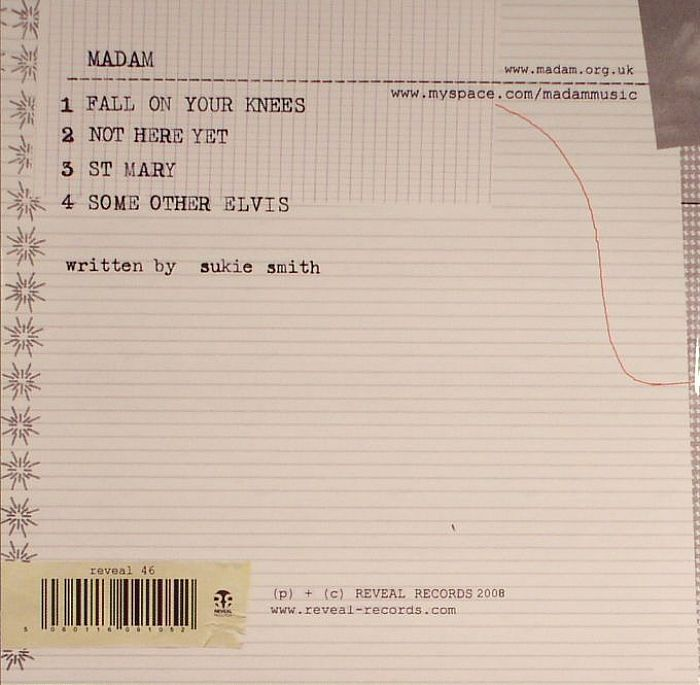 MADAM - Fall On Your Knees EP
