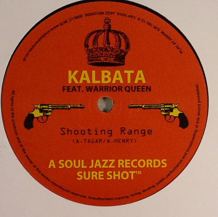 KALBATA Feat WARRIOR QUEEN Shooting Range Vinyl At Juno