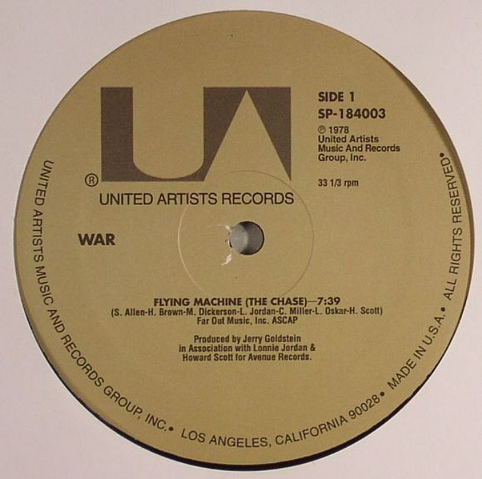 WAR - Flying Machine (The Chase)
