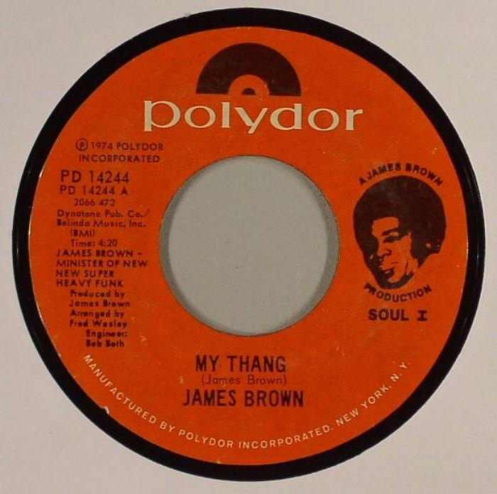 James BROWN My Thang Vinyl At Juno Records