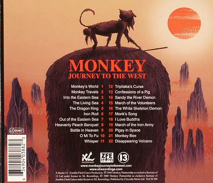 MONKEY - Journey To The West