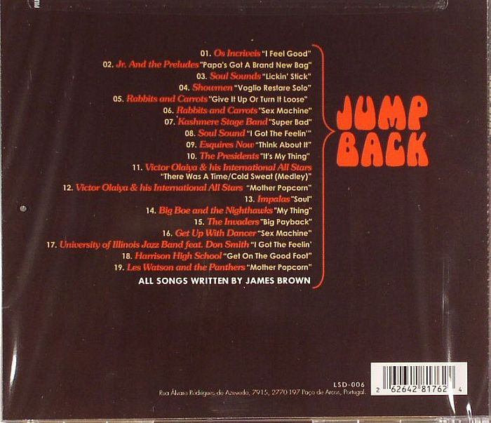 VARIOUS - Jump Back: A Tribute To James Brown