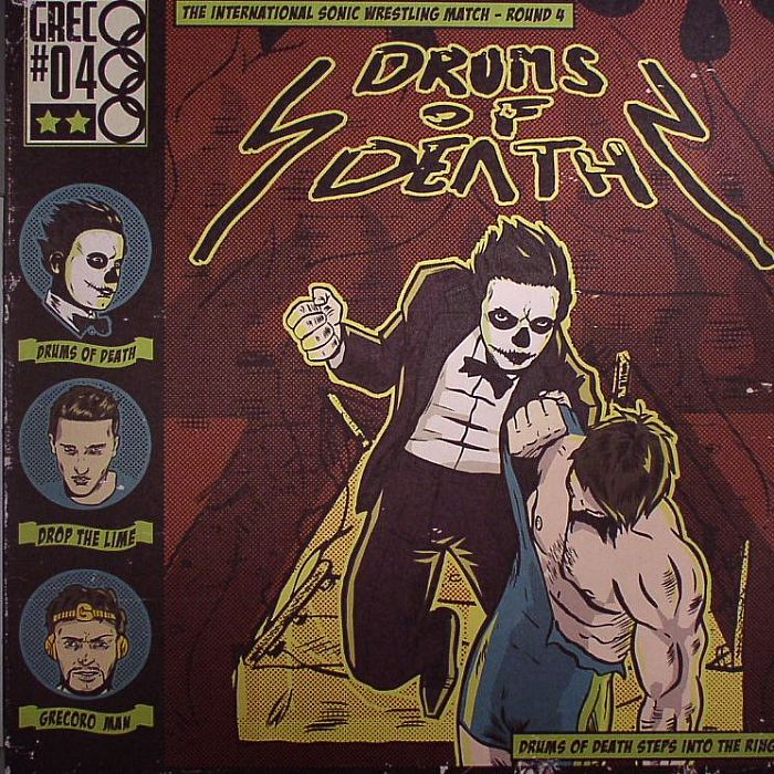 DRUMS OF DEATH - Drums Of Death Steps Into The Ring EP
