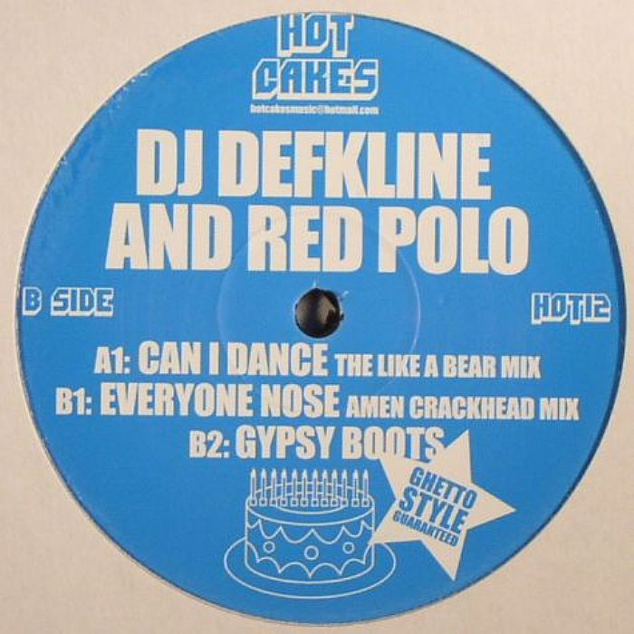 DJ DEFKLINE/RED POLO - Can I Dance