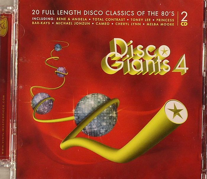 VARIOUS - Disco Giants Volume 4: 20 Full Length Disco Classisc Of The 80's