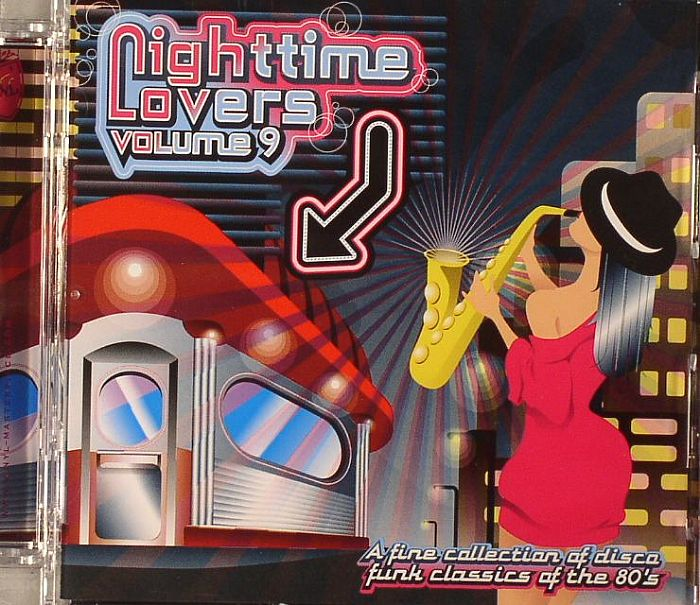 VARIOUS - Nighttime Lovers Volume 9: A Fine Collection Of Disco Funk Classics Of The 80s
