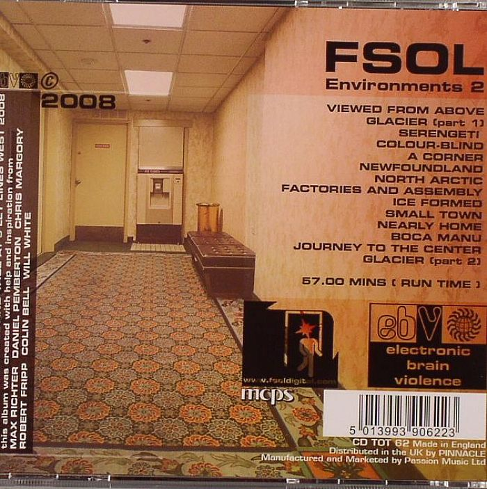 FUTURE SOUND OF LONDON, The - Environments 2