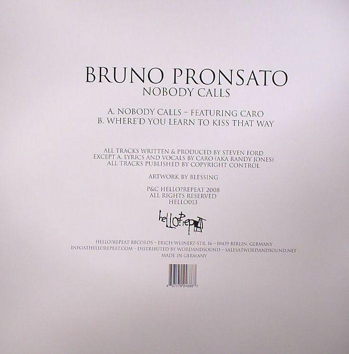 PRONSATO, Bruno - Nobody Calls