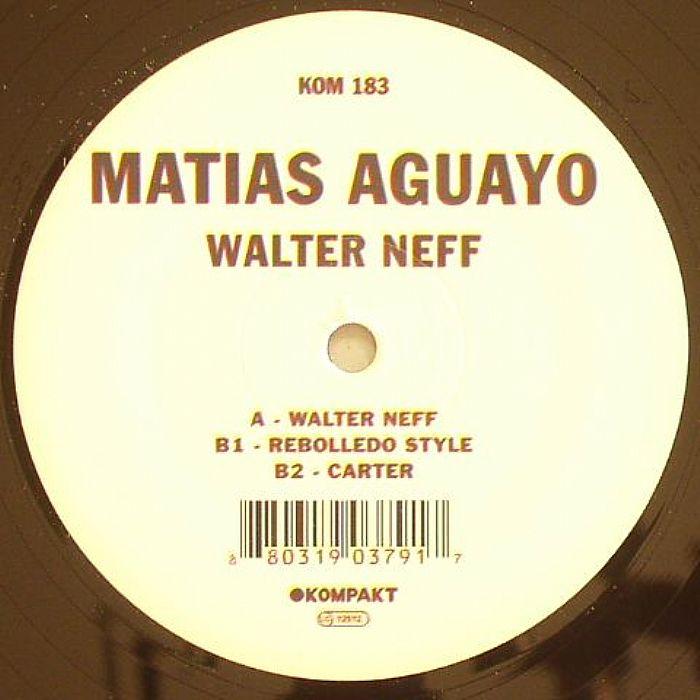 AGUAYO, Matias - Walter Neff
