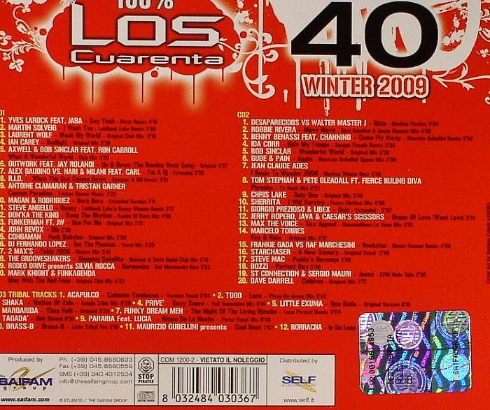Various - Los Cuarenta - 10 Anni