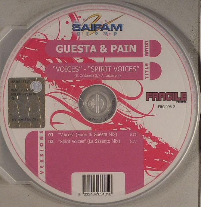 GUESTA & PAIN - Voices