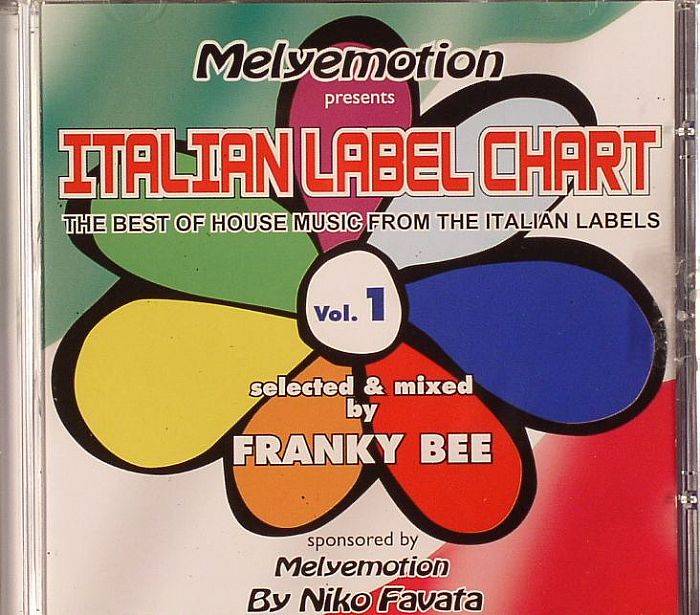 house music label frankie bee various italian label chart
