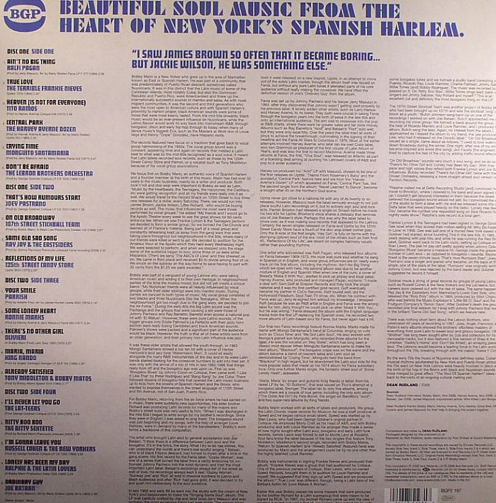 VARIOUS - The Soul Of Spanish Harlem