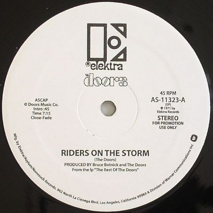 DOORS, The - Riders On The Storm