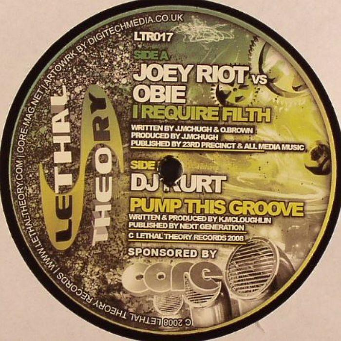 Joey Riot / DJ Kurt vs. Pikey* DJ Pikey - Get In The Flow / Gimme A Bassline