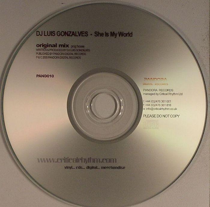 DJ LUIS GONZALVES - She Is My World