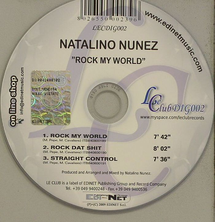 NUNEZ, Natalino - Rock My World