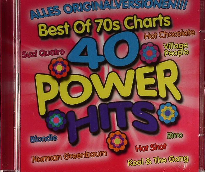 VARIOUS - 40 Power Hits: Best Of 70s Charts