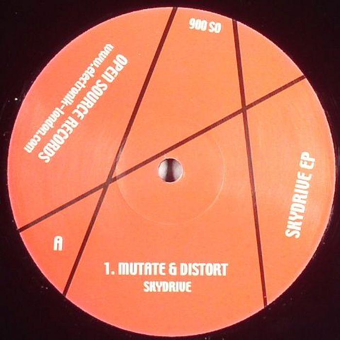 MUTATE/DISTORT/TT/DJ TEARZ - Skydrive EP