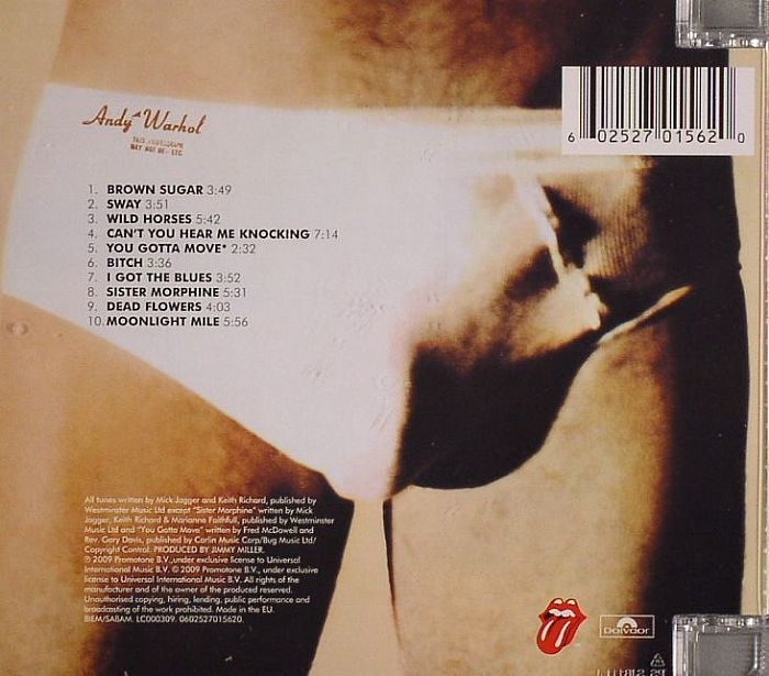 Rolling Stones Sticky Fingers Remastered Vinyl At Juno